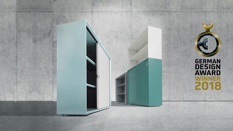 german design award, gda, winner, german design, 2018, xitan.s, xitan s, hochmodern, mauser, design, markus bischof produktdesign, blechfertigung