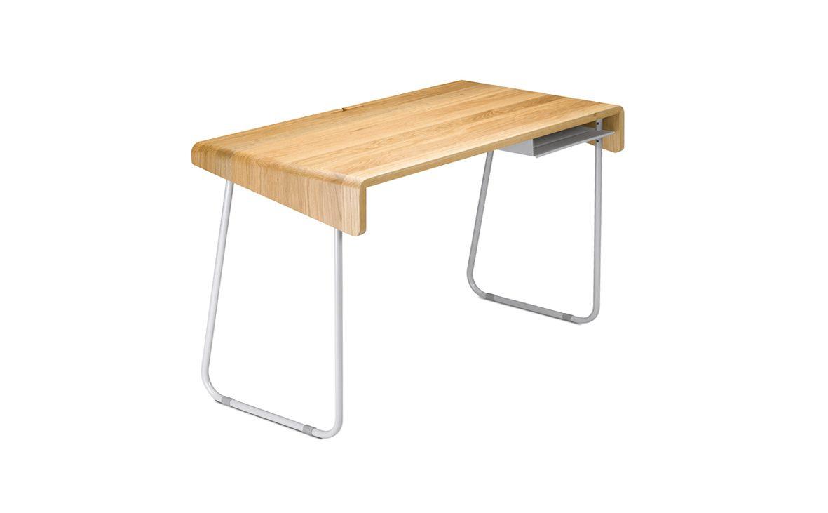 2012, sympa, schreibtisch, tisch, massiv, eiche, table, desk, oak desk, table, petite, small, kompakt, klein, design, modern, produkt, product, markus bischof produktdesign