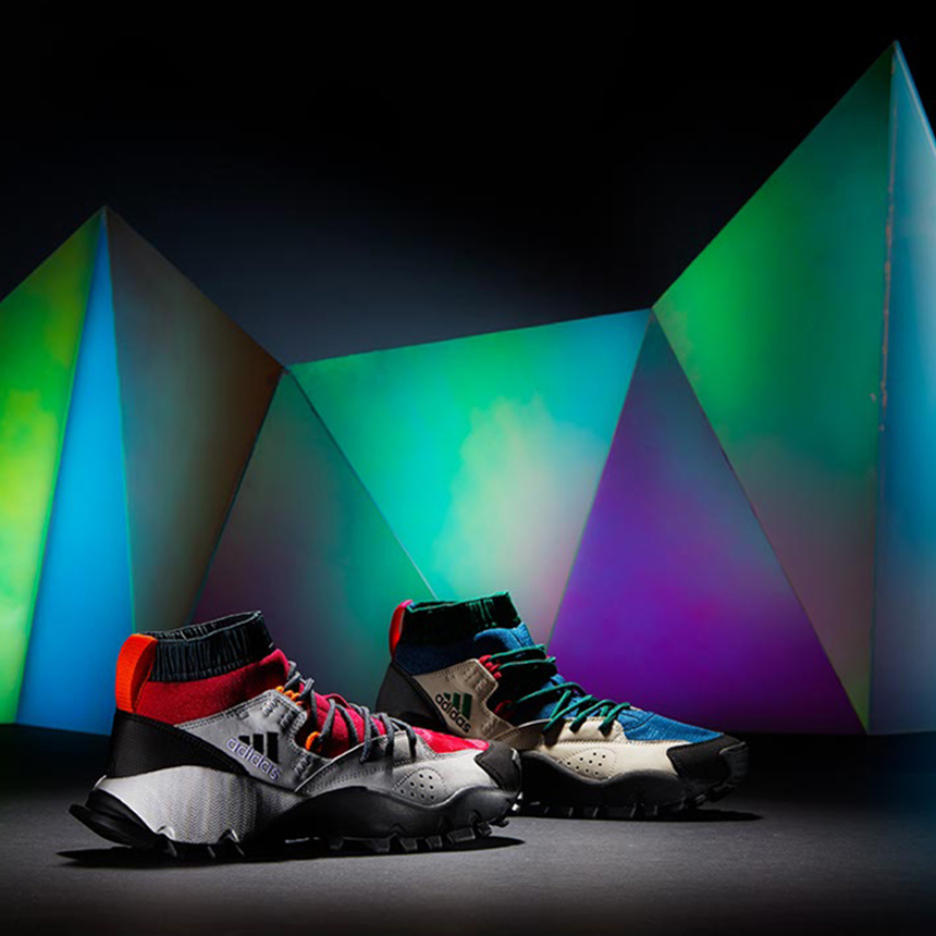 Adidas, 2016, design, markus bischof produktdesign, set design, instalation, art direction, sport, cooperation, environment, produkt, product, new, germany, display, inszenierung