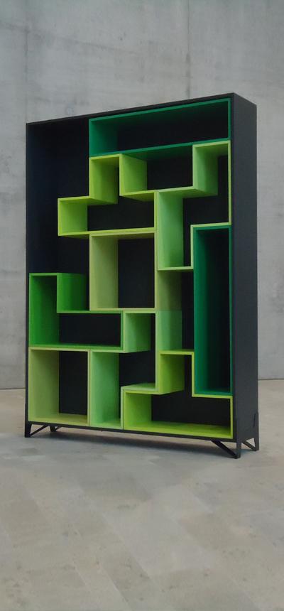 2012, tosli, regal, regalsystem, geometrisch, korpus, modular, erweiterung, shelf, shelf system, module, arrangeable, geometric, expandable, organizing, design, modern, produkt, product, markus bischof produktdesign