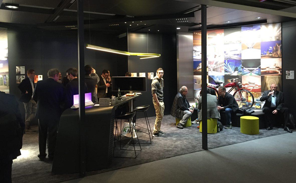 2018, booth, lmt gmbh, leuchtenmesse, messestand, produktpräsentation, lounge, projektdarstellung, exhibition, light fair, display, project presentation, design, markus bischof produktdesign